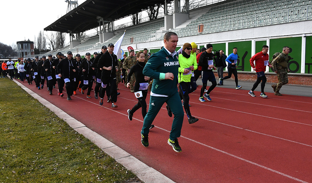CISM Run Day a Margitszigeten